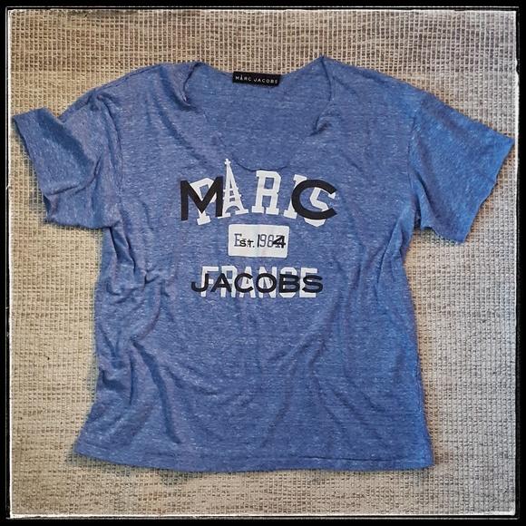 4aaf18e35f25d marc jacobs paris france t-shirt. M 5a52281300450fa07d00587b